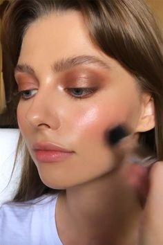 Is Cream Blush for You? 23 Best Cream Blushes for Glowy, Flushed Cheeks - - Is Cream Blush for You? 23 Best Cream Blushes for Glowy, Flushed Cheeks make up Is Cream Blush for You? Best Cream Blushes for Glowy Cheeks Cheek Makeup, Skin Makeup, Makeup Blush, Dewy Makeup Look, Glow Makeup, Maquillaje Natural Tumblr, Huda Beauty, Beauty Makeup, Edgy Makeup