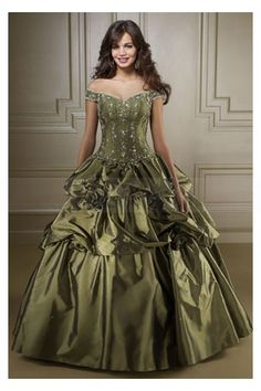 Alluring Off-the-Shoulder Taffeta Ball Gown Quinceanera Dress with Floral Motifs