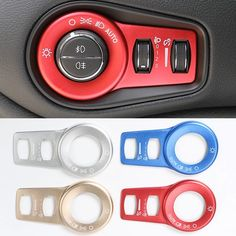 FMtoppeak 6Colors Interior Accessaries Inner Door Handle Cover Trim Strip Sticker Kit ABS for Ford F150 2015-2017 Chrome