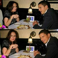 Wentworth Miller and Sarah