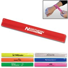 Promotional Reflective Snap Wristband | Customized Reflective Snap Wristband | Promotional Wristbands