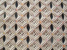 openwork: mating and porthole (leonardo benitez urrego) Tags: hand medellí . Macrame Art, Macrame Projects, Macrame Knots, Micro Macrame, Macrame Modern, Yarn Crafts, Diy And Crafts, Crochet Girls Dress Pattern, Boho Cushions