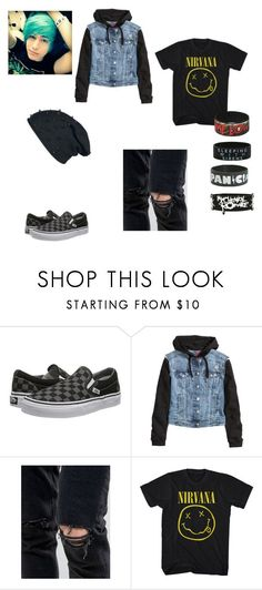 """""""Another emo set for the dudes"""" by living-among-the-moon-and-stars ❤ liked on Polyvore featuring Vans, H&M, ASOS, Hot Topic, men's fashion, menswear and emo #MensFashionGrunge"""