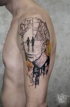 Graphic style portrait by KOit, Berlin.