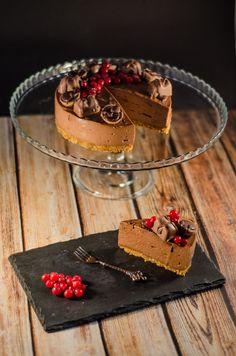 Nutellás sajttorta 30 perc alatt - Zsengezsálya French Silk Pie, Nutella, Tiramisu, Panna Cotta, Food And Drink, Pudding, Cake, Ethnic Recipes, Pie Cake