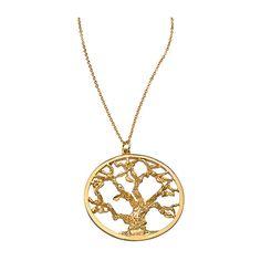 Mali Sabatasso Tree of Life Pendant Necklace ($90) ❤ liked on Polyvore
