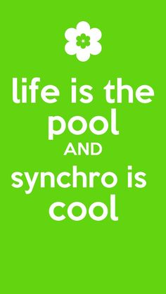 Synchro is the life