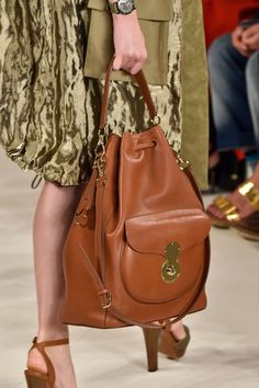 Pin for Later: The 7 Top Bag Trends For Spring 2015  Ralph Lauren Spring 2015
