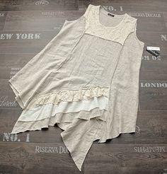 Sarah Santos Layering Linen Dress Tunic