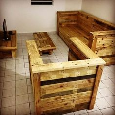 Lovely Ideas With Old Shipping Wooden Pallets