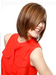 The 11 Hottest A-Line Bob Hairstyles EVER --> http://www.latest-hairstyles.com/bobs/a-line.html
