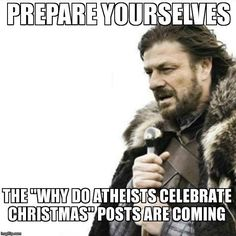 One does not simply put up a wreath and a tree without having to explain oneself with historical facts about solstice celebrations that pre-date christianity.