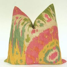 Pillow Cover  Decorative Pillow  Throw Pillow  Sofa by kyoozi, $39.00