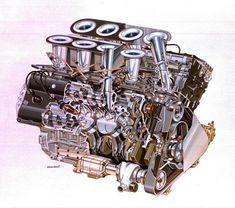 Ford Cosworth DFV F1 engine