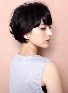 40代・50代におすすめ黒髪ショートボブ&ロングボブヘアカタログ   美人部