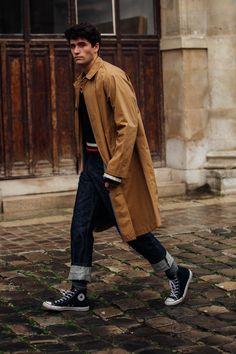 Street style à la Fashion Week homme automne-hiver 2018-2019 de Paris