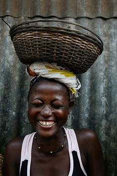 Woman of Sierra Leone. From Lee Karen Stow  Messages for UN Women - in pictures   the issues that matter most to them  - the 100th anniversary of International Women's Day.