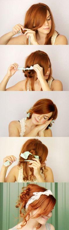 Easy DIY Hairstyles for Medium and Long Hair1 (61)