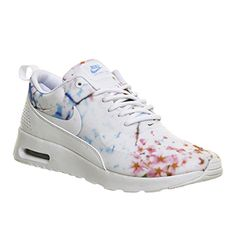 Nike Air Max Thea White University Blue Cherry Blossom - Hers trainers