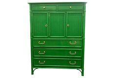 Bamboo Dresser by Drexel Heritage by http://www.shanahanwildermuthinteriorsvintage.com/