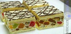 Reteta pentru prajitura Mozaic Romanian Desserts, Romanian Food, Yule Log, Food Cakes, Cake Cookies, Waffles, Biscuits, Cake Recipes, Sweet Treats