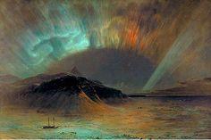 Church, Frederic Edwin (1826-1900) - 1865 Aurora Borealis