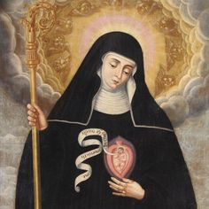 """""""Happy Feast of St. Gertrude ... Eternal Father, I offer Thee the Most Precious Blood of Thy Divine Son, Jesus, in union with the masses said throughout the world today, for all the holy souls in purgatory, for sinners everywhere, for sinners in the universal church, those in my own home and within my family. Amen"""""""