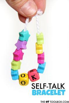Kids positive self talk bracelets