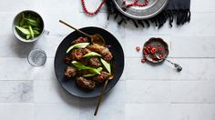 Crispy sweet and sour goat with Sichuan pepper