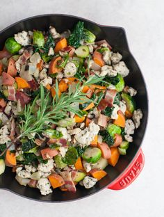 Kale & Sweet Potato Turkey Skillet