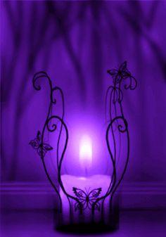 Do you love purple ? The Purple, All Things Purple, Shades Of Purple, Purple Stuff, Purple Candles, Purple Lantern, Purple Wallpaper, Purple Aesthetic, Aesthetic Light