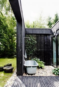 Outdoor, Spaces, Garten, Bad, Badewanne