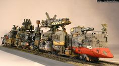 You have to see this amazing looking Ork Battle-Train conversion that's bringing the pain!