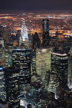 New York City-I've been there, but I would like to go again at least once.