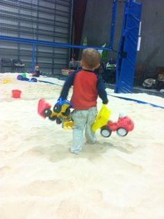 Sand activities for toddlers! Does the list ever end?