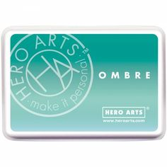 Encreur ombré mint to green hero Arts - Inspiration Création