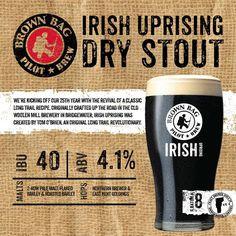 Long Trail Brewing Company Irish Uprising Dry Stout