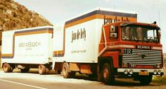 SCANIA LB 141 met gesloten aanhanger van Jan de Lely in Geldermalsen Cab Over, Diesel Trucks, Jaba, Volvo, Transportation, Vehicles, 111, Europe, Car