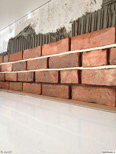Vaiko tästä tiilestä? Stairs, Wood, Crafts, Home Decor, Stairway, Manualidades, Decoration Home, Woodwind Instrument, Room Decor