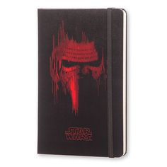 Got this awesome Kylo Ren Moleskine Notebook and am considering collecting them all! May or may not journal in it...