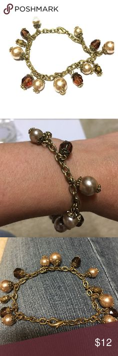 "Bracelet Small bracelet 6.5"" simple Lia Sophia Lia Sophia Jewelry Bracelets"