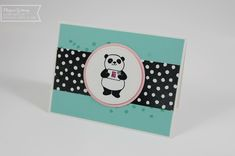 Stampin' Up, Party Pandas, Sale-a-bration, Karte