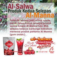 Pengguna gum arabic Al-Manna Ameer kini mempunyai pilihan kedua untuk mendapatkan serbuk prebiotik semula jadi getah arab Sudan (akasia senegal) atau 'al-manna hashab' dengan produk terbaharu makanan tambahan seumpanya iaitu Al-Salwa Ameer. Suplemen baharu yang berasaskan kelopak bunga roselle atau 'karkadeh' tampil dalam bentuk serbuk dan menggabungkan serbuk gula mentah gum arabic sebagaimana produk keluaran terdahulu.