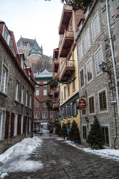 Exploring the historic Petit-Champlain District, just one of 10 reasons to make Quebec City your next winter destination. www.casualtravelist.com