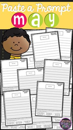 May Paste a Prompt (Writing Prompts) - motivate reluctant writers by offering elements of choice while still ensuring that students practice personal narrative, informative/expository, opinion, descriptive, and creative writing $