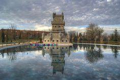 Parque Europa, Madrid. Europe Park, Madrid 4