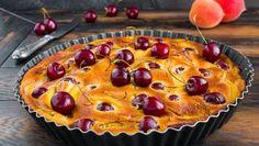 Ovocný tvarohový koláč Pie, Breakfast, Food, Club, Basket, Apricot Pie, Snow Peas, Cherry Turnovers, Tuna Cakes