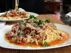 Best Food to Eat Before a Hike - Spaghetti