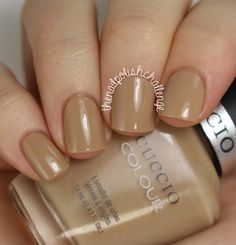 Cafe Cuccio Fall/Winter 2014 Swatches: Java Va Voom! is a gorgeous warm beige cream with a flawless formula.