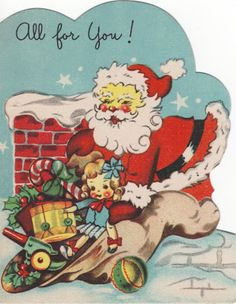 fete noel vintage gifs images - Page 6 Christmas Card Images, Vintage Christmas Images, Holiday Pictures, Old Fashioned Christmas, Christmas Past, Retro Christmas, Vintage Holiday, Christmas Greeting Cards, Christmas Greetings